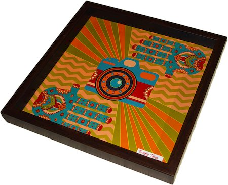 Twirly Tales Camera Series Square Tray