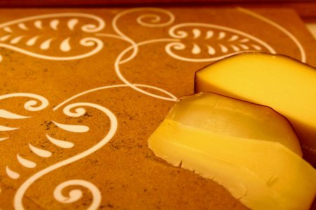 Amalgam Hand-carved Pretty Paisley Motif Square Stone Platter