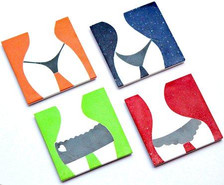 Amalgam Hand-crafted Bummy Suite Stone Coasters - set of 4
