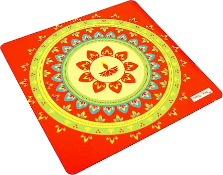 Twirly Tales Festive Diya Series Trivets - set of 2