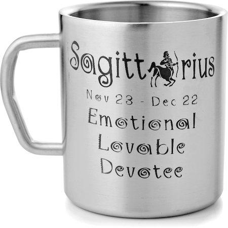 Mosaic Sagittarius Zodiac Sign Mug