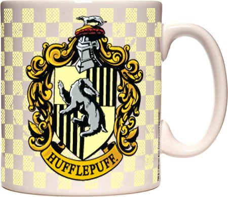 Warner Brothers Harry Potter and The Deathly Hallows - Hufflepuff Mug
