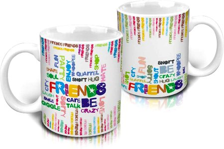 Hot Muggs Friend Emotions Mug