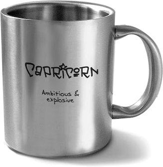 Hot Muggs Capricorn Personality Sunsign Mug