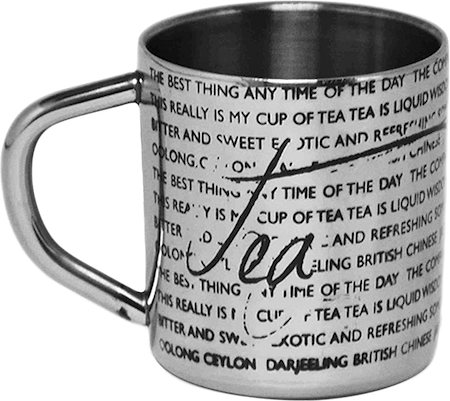 Hot Muggs For the Love of Tea Mug - set of 4
