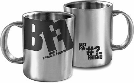 Hot Muggs BFF (Best F*#?ing Friend) Mug
