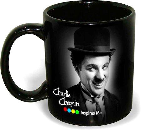 Hot Muggs Charlie Chaplin - I am what I am, Mug