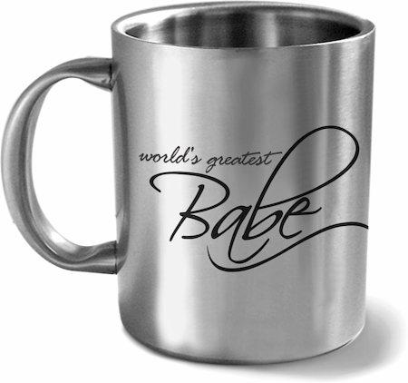 Hot Muggs World's Greatest Babe Mug
