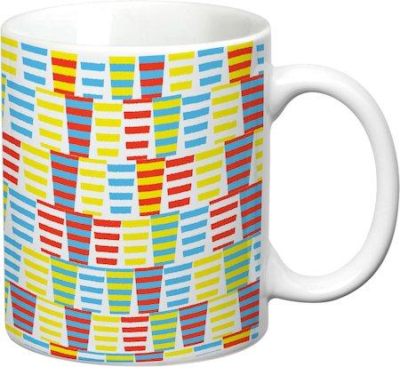 Prithish Abstract Design 28 White Mug