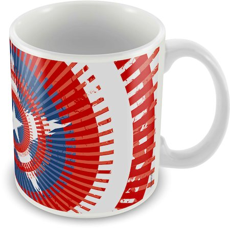 Marvel Captain America Magic Ceramic Mug