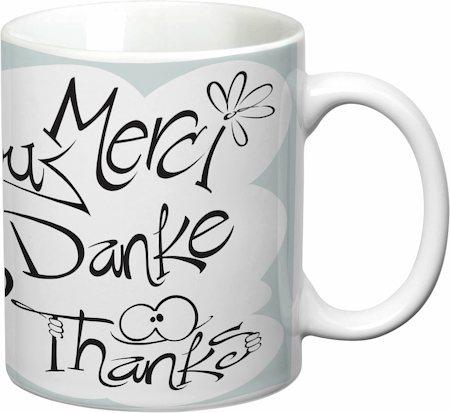 Prithish Thank You White Mug