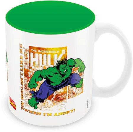 Marvel Comics Hulk When Angry Ceramic Mug