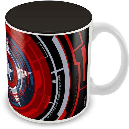 Marvel Captain America Classic Design Ceramic Mug