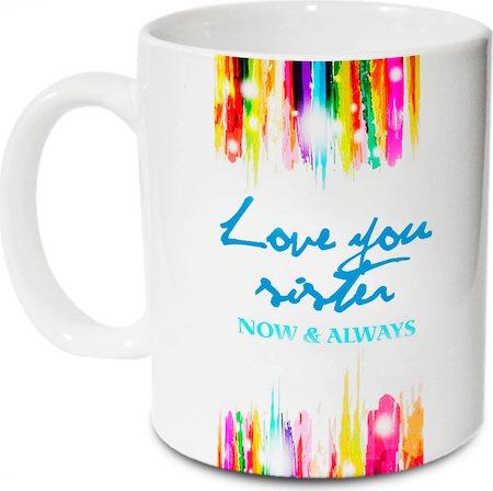 Hot Muggs Love You Sister Mug