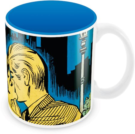 Marvel Comics The Kiss Ceramic Mug