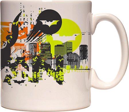 Warner Brothers Batman Saves Gotham City Mug