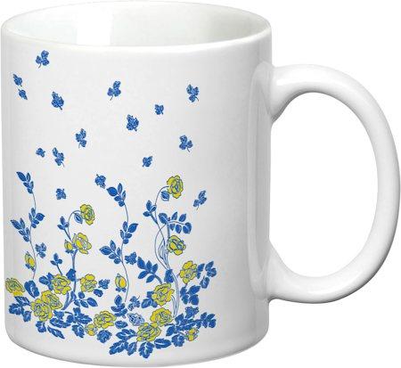 Prithish Floral Design Design 2 White Mug