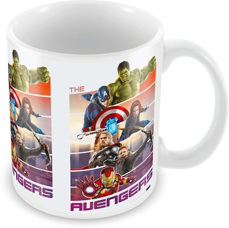 Marvel The Avengers Ceramic Mug