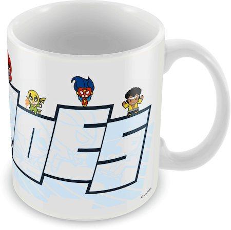 Marvel Avengers - Heroes Kawaii Ceramic Mug