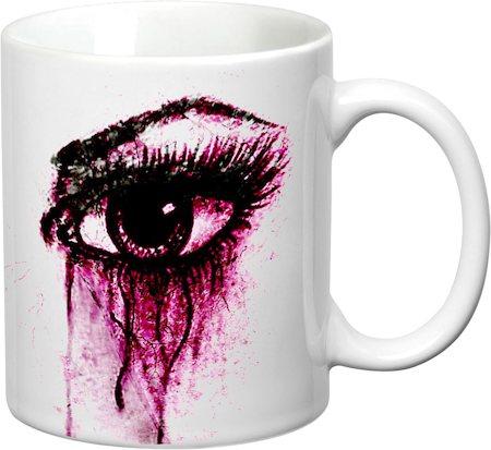 Prithish Teary Eyes White Mug