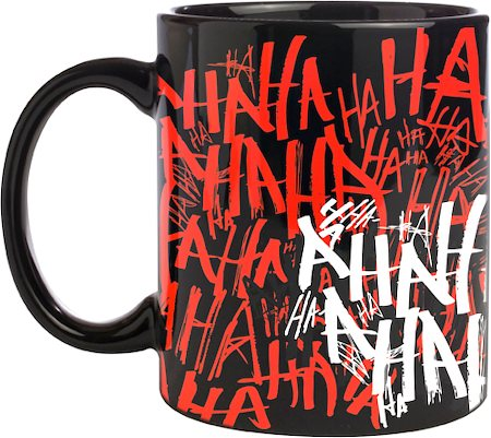 Warner Brothers Joker Laughter Mug
