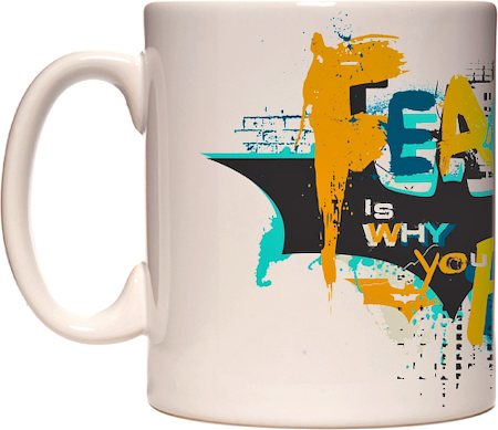 Warner Brothers Fear is Why You Fail Logo Mug