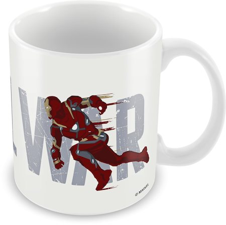 Marvel Civil War - Captain America Chase Ceramic Mug