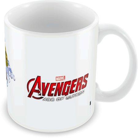 Marvel Iron Man - Hulk - Avengers Ceramic Mug