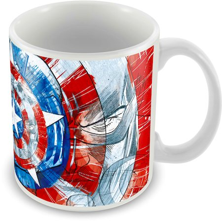 Marvel Captain America - Avenger 75 Years Ceramic Mug