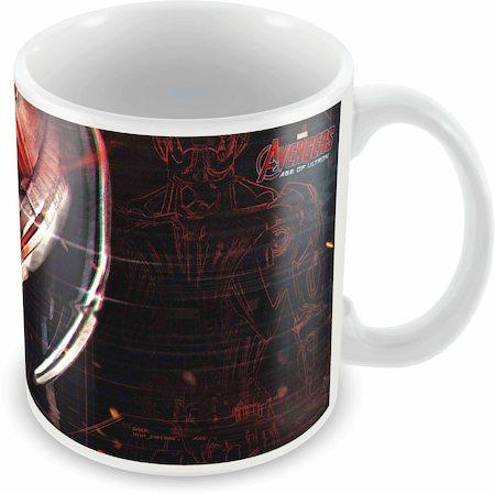 Marvel Ultron Eyes - Avengers Ceramic Mug