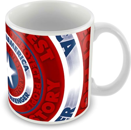 Marvel Captain America - 75 Years New Classic Ceramic Mug