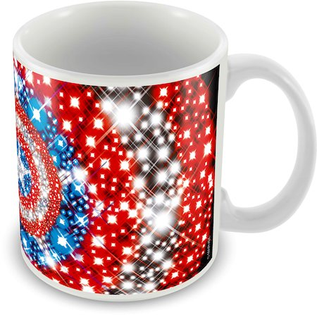 Marvel Avenger Captain America New Ceramic Mug