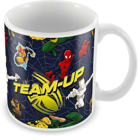 Marvel Spider-Man Team Up Ceramic Mug