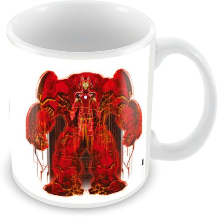 Marvel Avengers Red Ceramic Mug