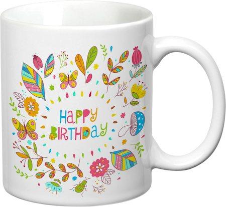 Prithish Happy Birthday White Mug
