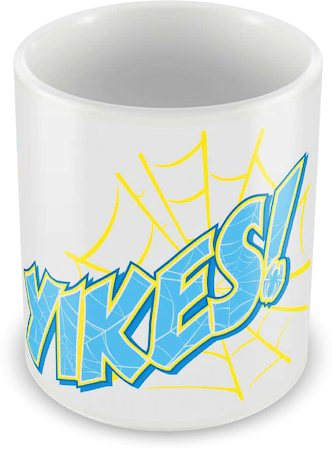 Marvel Spider-Man Yikes Ceramic Mug
