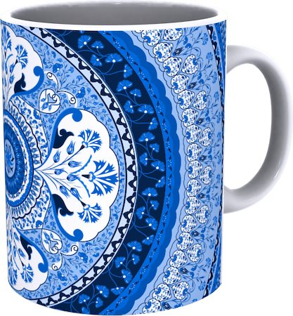 Kolorobia Turkish Blue Mug