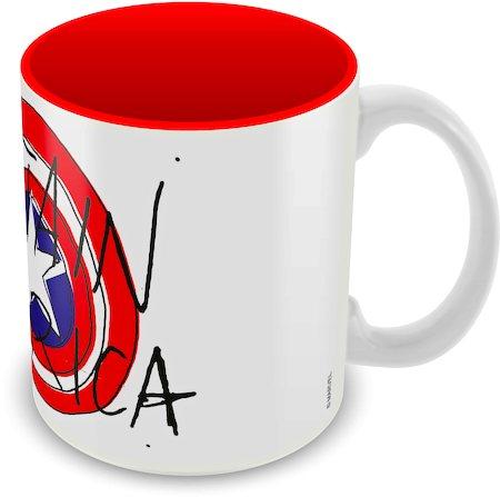 Marvel Captain America Avenger Ceramic Mug
