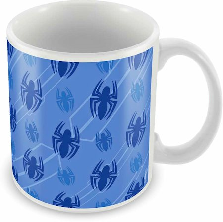 Marvel Spider-Man Spiders Ceramic Mug