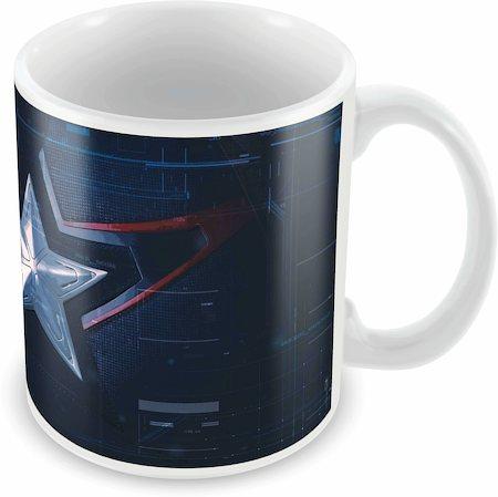 Marvel Captain America Suit Ceramic Mug