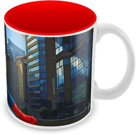 Marvel Spider-Man Hanging Ceramic Mug