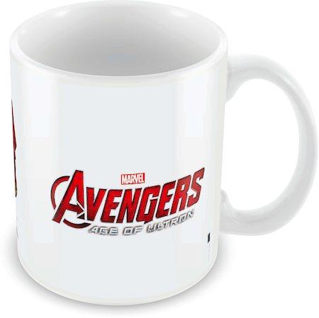 Marvel Hulk - Iron Man Ceramic Mug