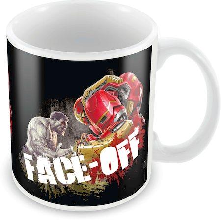 Marvel Avengers - Face off Ceramic Mug