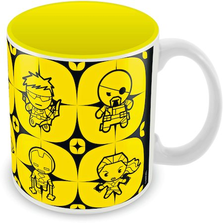 Marvel Avengers Cast - Kawaii Ceramic Mug