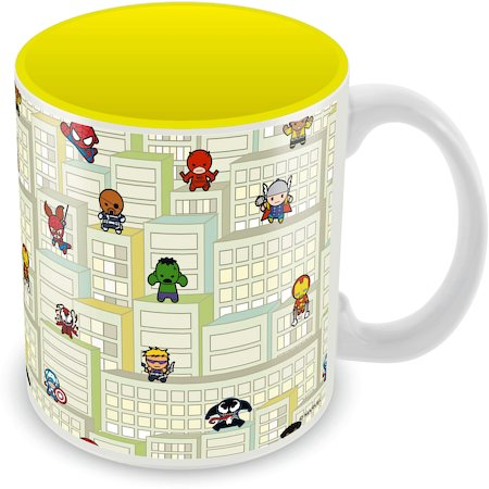 Marvel Play - Kawaii Art Ceramic Mug