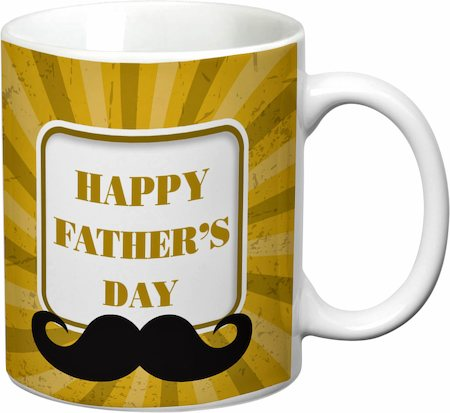 Prithish Happy Father's Day Design 1 White Mug