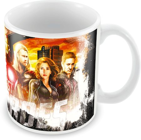 Marvel Avengers - Earth's Heroes Ceramic Mug