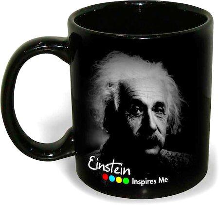 Hot Muggs Einstein - Life is like bicycle, Mug