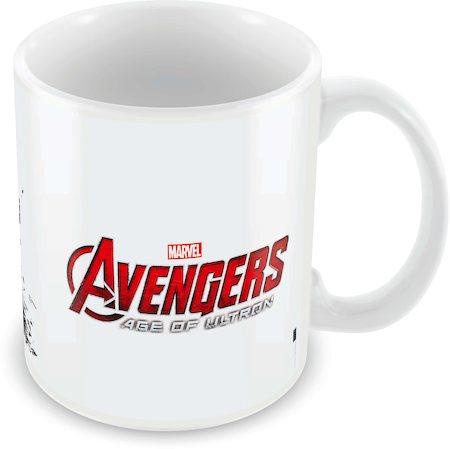 Marvel Brawn and Brains - Avengers Ceramic Mug