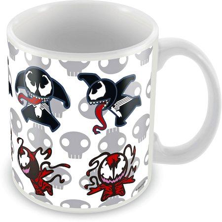 Marvel Kawaii Art - Venom Ceramic Mug